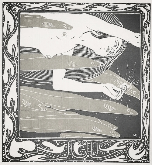 illustration by  Koloman Moser