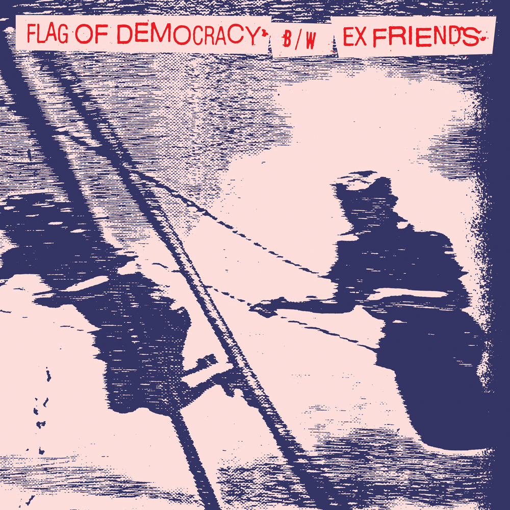 Flag Of Democracy / Ex Friends • Split 7""