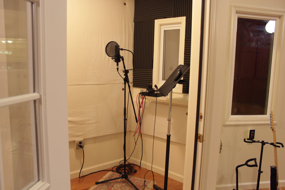 Vocal Booth Interior