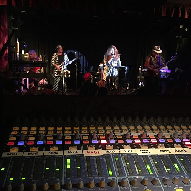 Doing sound for a Jethro Tull tribute band