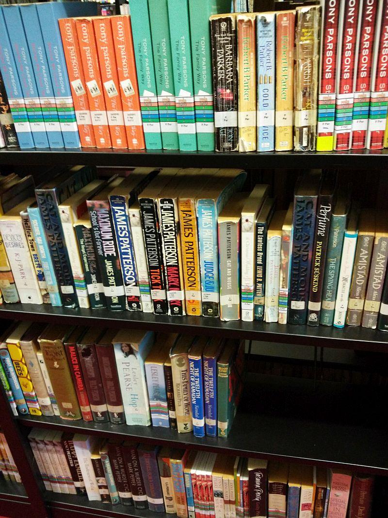 A selection of English non-fiction books