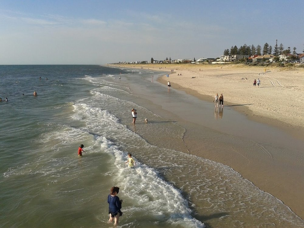 Summer time at Glenelg. One of the biggest reasons why I would never regret being an Adelaideian, no matter how brief - South Australia is arguably the most beautiful state in Australia!