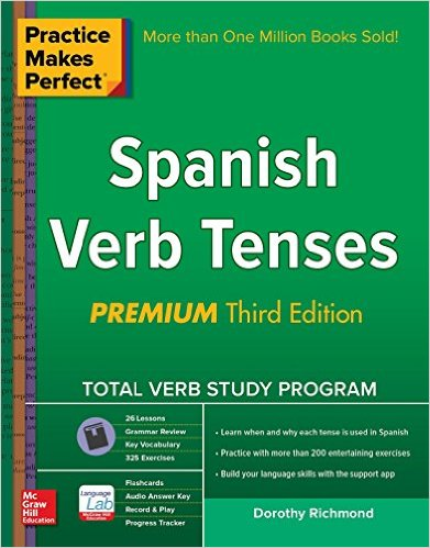 Spanish verb tenses book