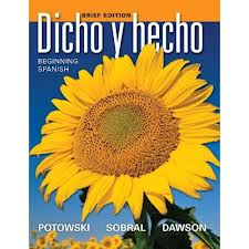 Dicho y Hecho book for beginners