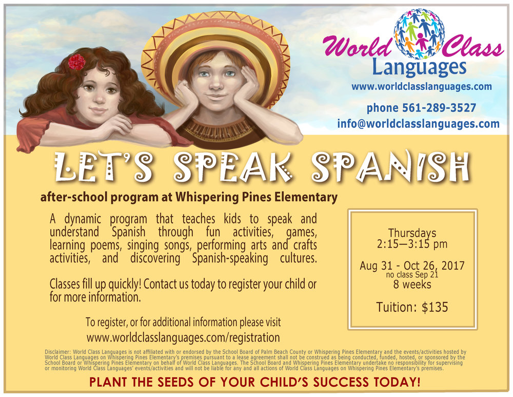 whispering-pines-elementary-after-school-program-spanish