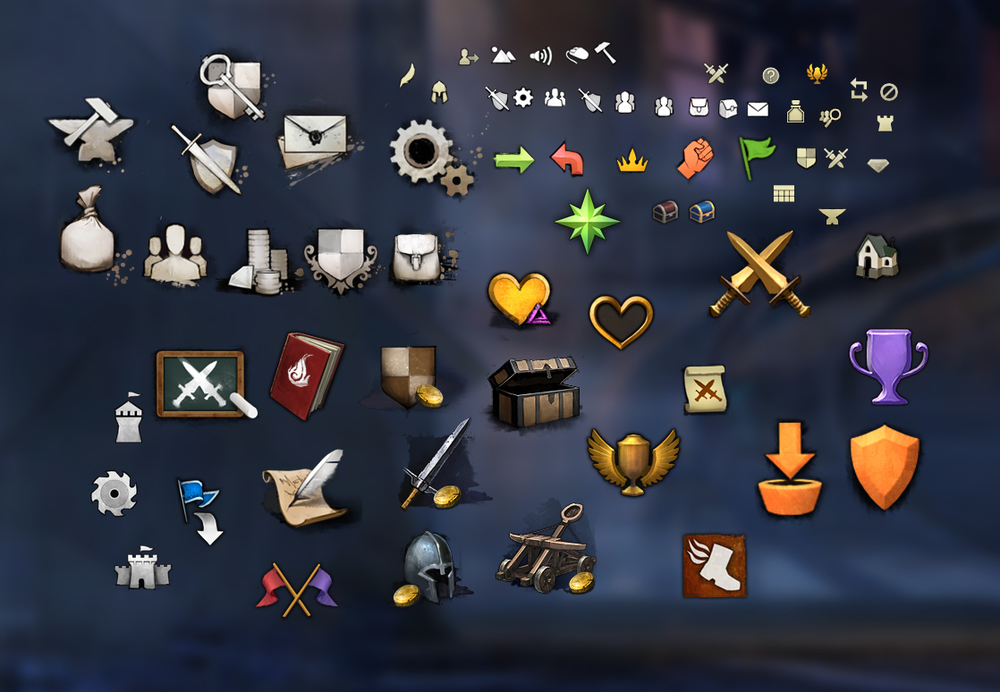 In-world Icons intended to float over NPC's heads.