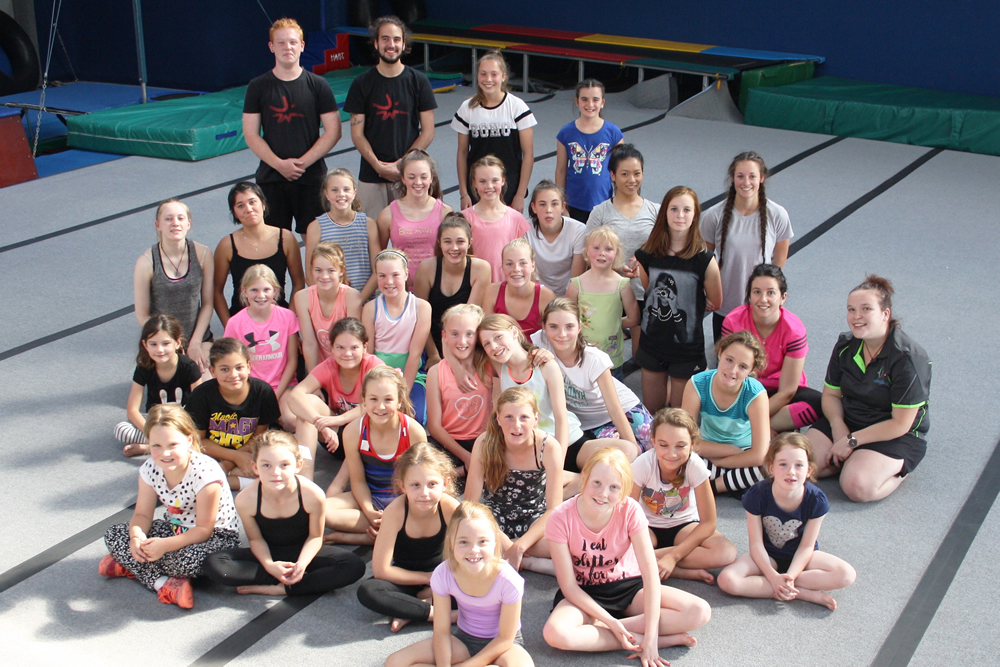 Our first GIRLS ONLY parkour session was a great hit with 38 girls aged from 5yrs to 35yrs attending. Some super skills were displayed by these amazing young ladies so we look forward to classes in Term 2.