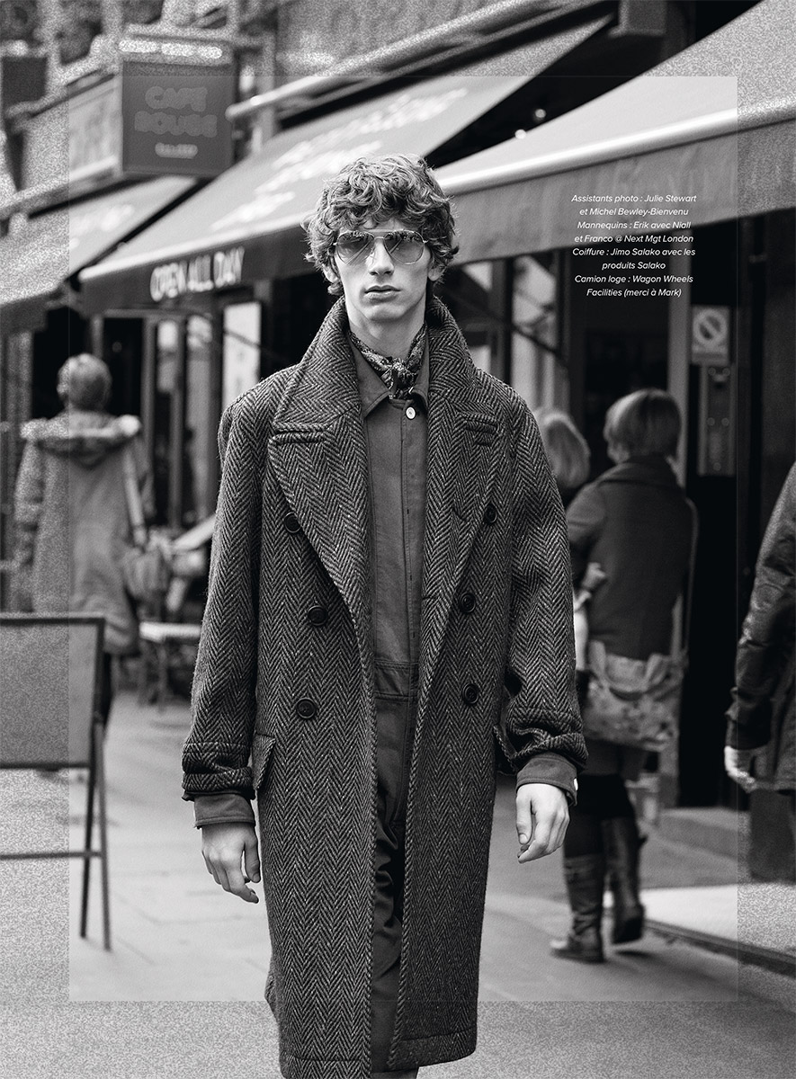 GQ France. Fashion Ed: Mark Anthony Bradley