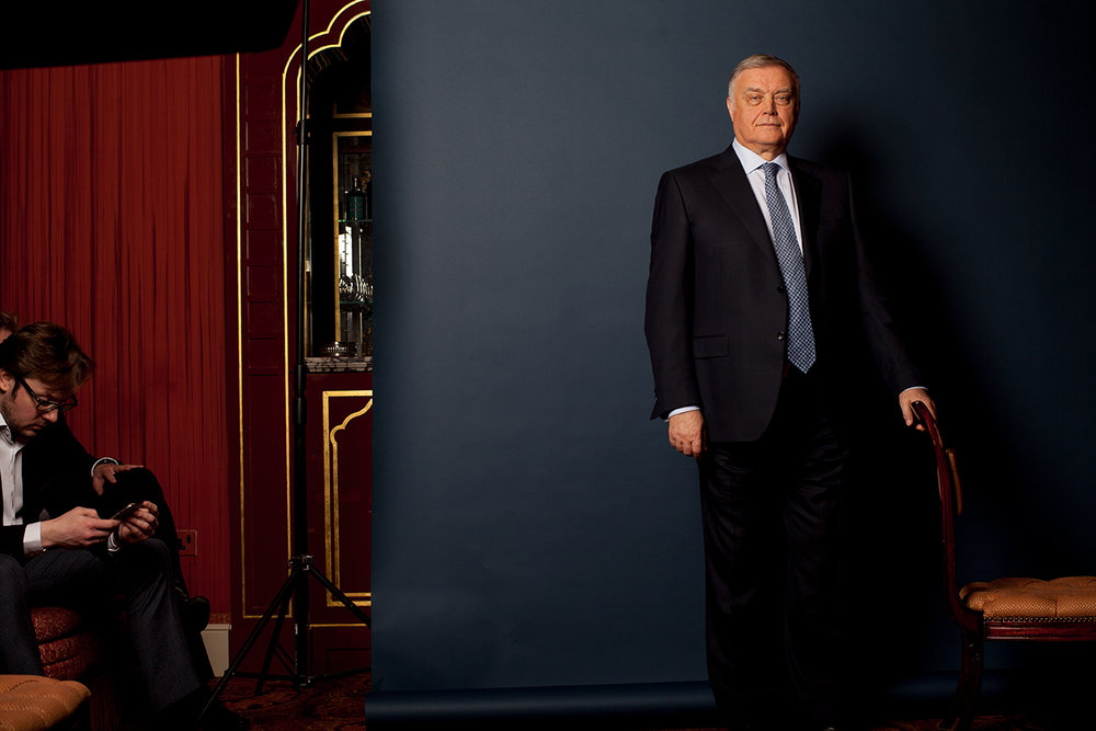 Vladimir Yakunin / Gentleman's Journal