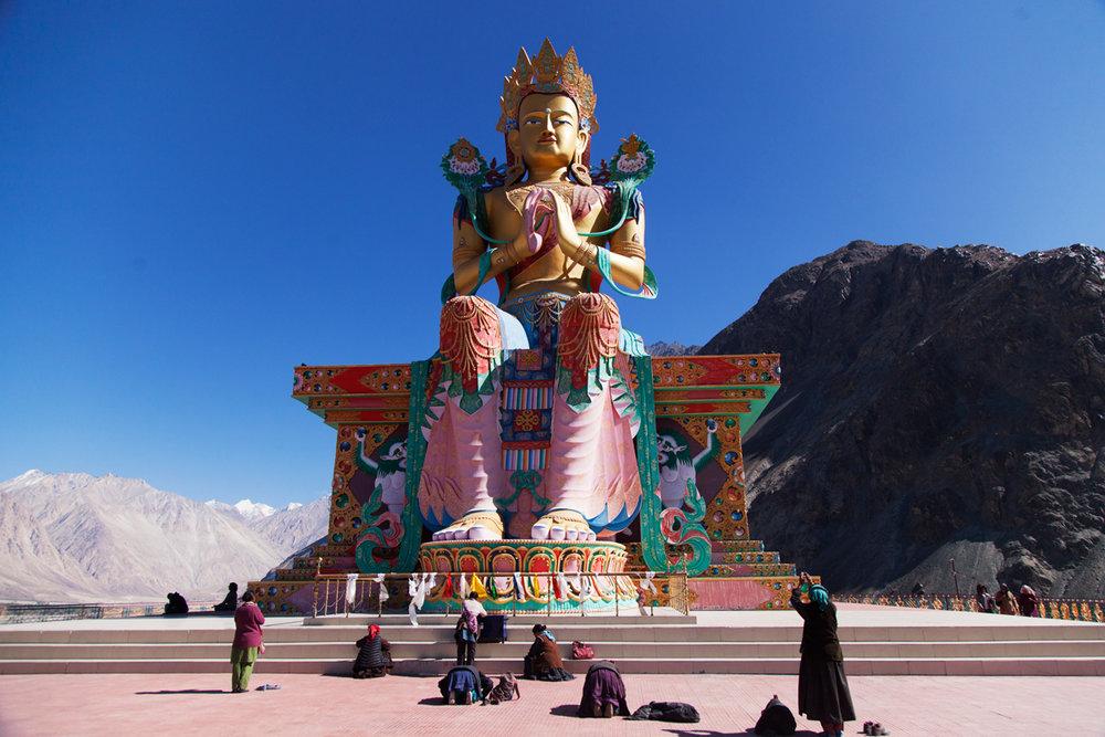 Diskit Monastery, Nubra Valley, Ladakh