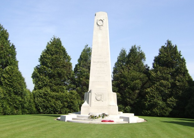 The New Zealand Memorial, Longueval, France.