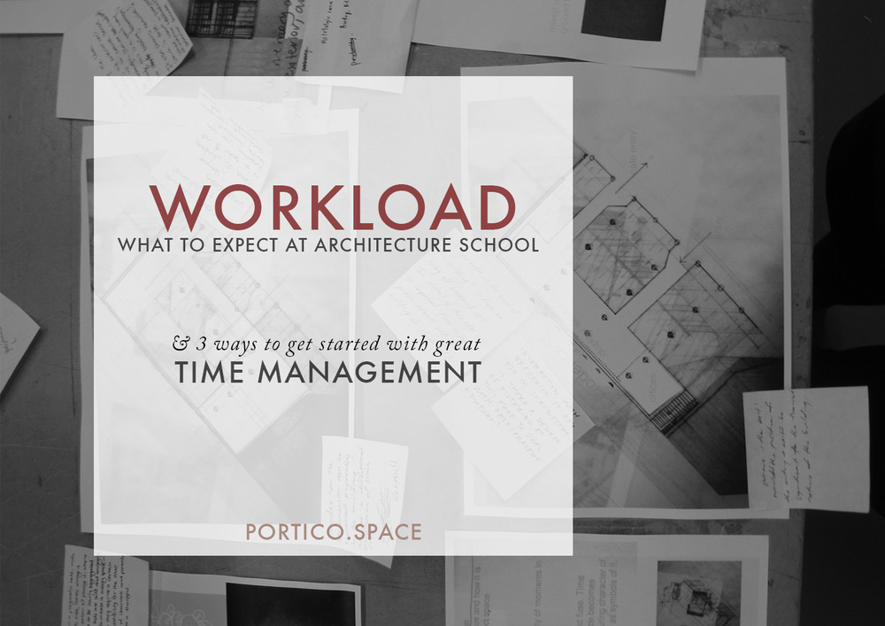 ARCHITECTURE SCHOOL | Workload, Expectations U0026 How To Manage Your Time So  You Can Do Your Best Work