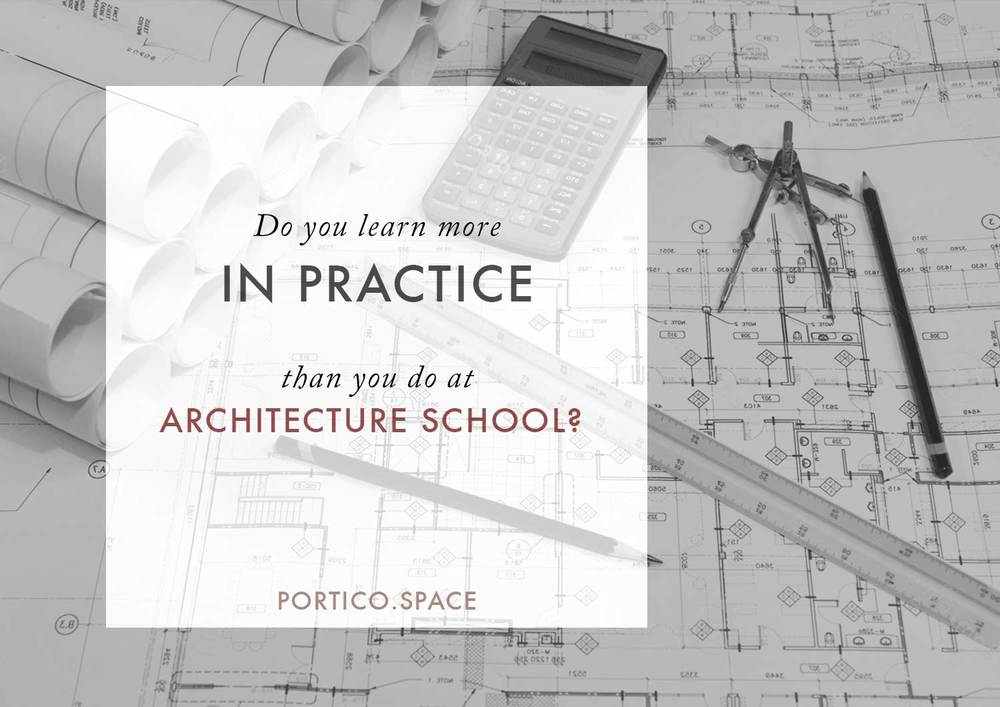 Is it true do you really learn more about architecture in for General notes for residential architectural drawings