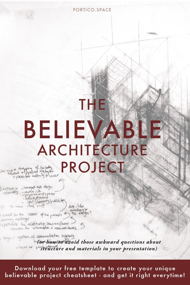 why you need to make your architecture concept presentation