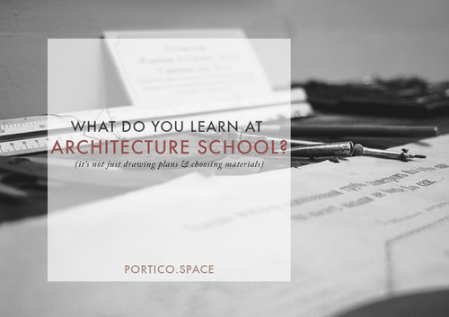 why you should not be an architect