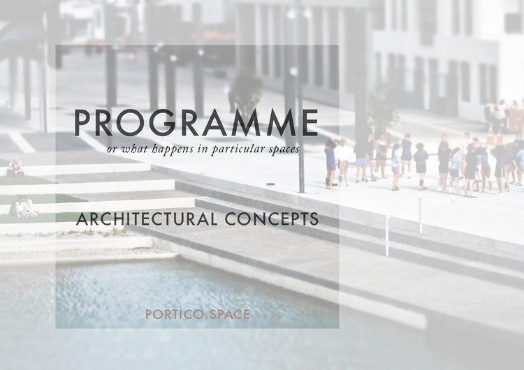 Portico for Conception architecturale definition