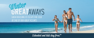Up to 50% off at AM Resorts through EnjoyVacationing.com. Book by March 31!