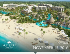 Grand Opening November 15! Contact info@enjoyvacationing.com to learn more about this all inclusive resort starting at $219 per person per night in Punta Cana