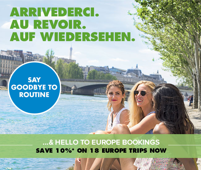 10% off European Travel from Travel Agency Enjoy Vacationing!
