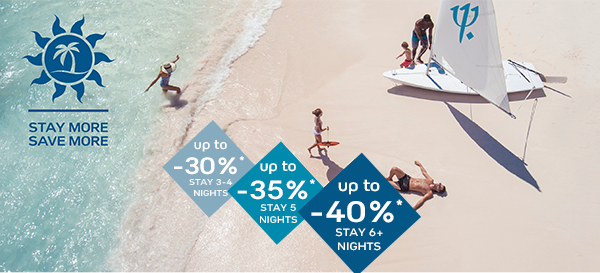 Club Med Up to 40% off through Enjoy Vacationing!