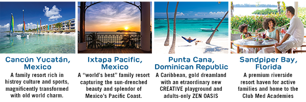 Club Med deals on now at these North American Resorts!
