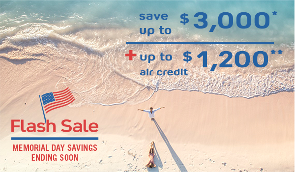 Club Med Memorial Day Flash Sale