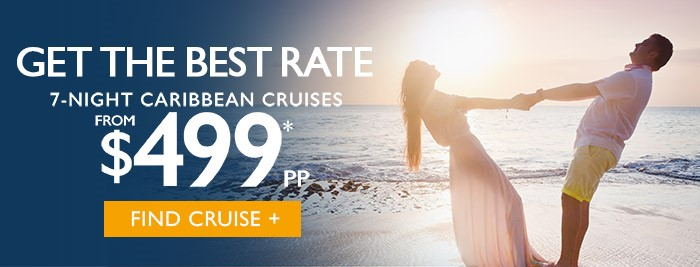 7 night caribbean cruise starting at $499 per person!