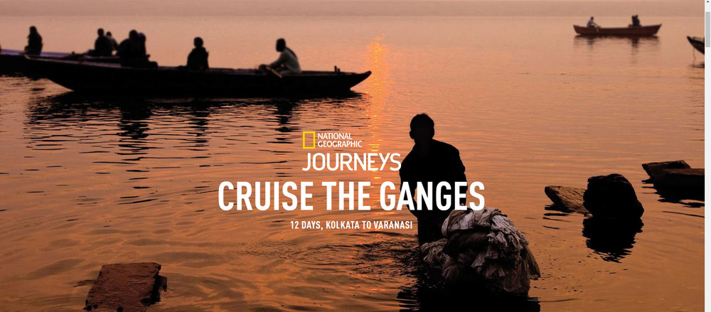 Cruise the Ganges with National Geographic Journeys. Learn more from info@enjoyvacationing.com