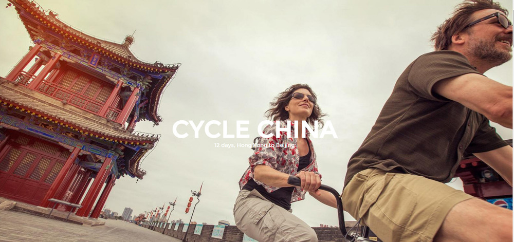 Cycle China. Learn more from info@enjoyvacationing.com
