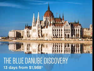 Avalon Fall Sale on Now - Blue Danube Discover - 13 days from $1,988 per person