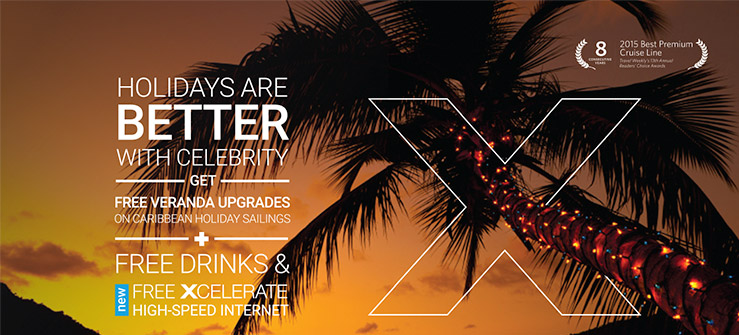 Holidays are Better with Celebrity Cruises