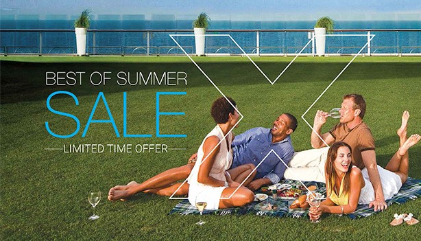 Celebrity Cruise Line Best of Summer Sale - Available through Enjoy Vacationing Travel Agency