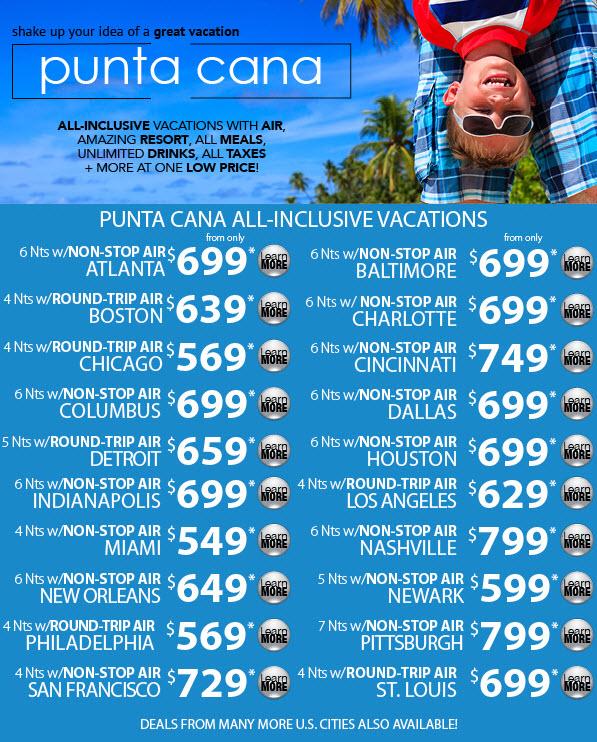 Punta Cana Deals