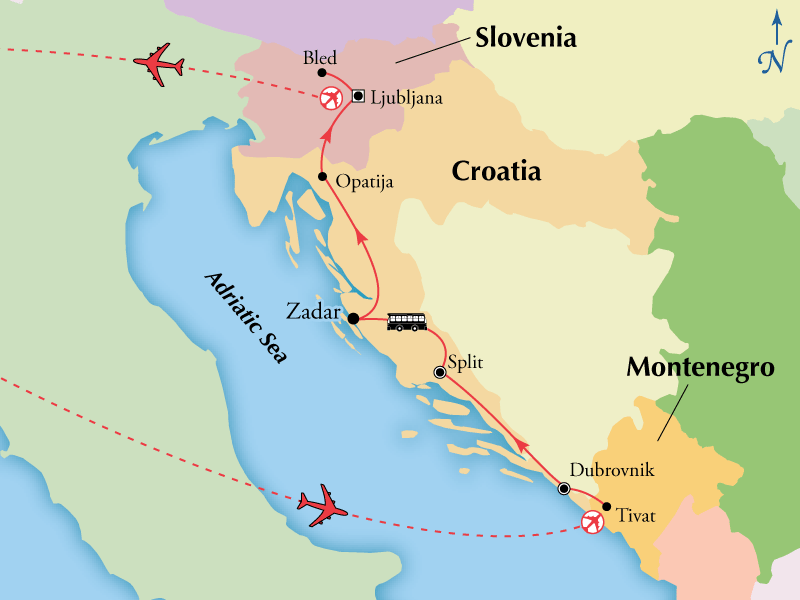 10 Day Tour of Croatia & Slovenia on Sale now