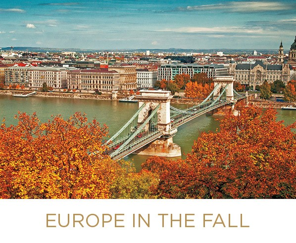Europe in the fall by River Cruise from Enjoy Vacationing Travel Agency