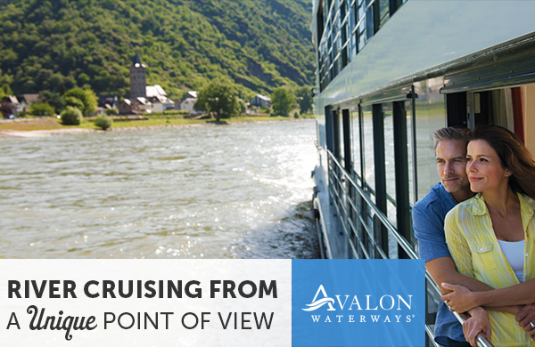 Avalon Waterways on sale now through EnjoyVacationing.com