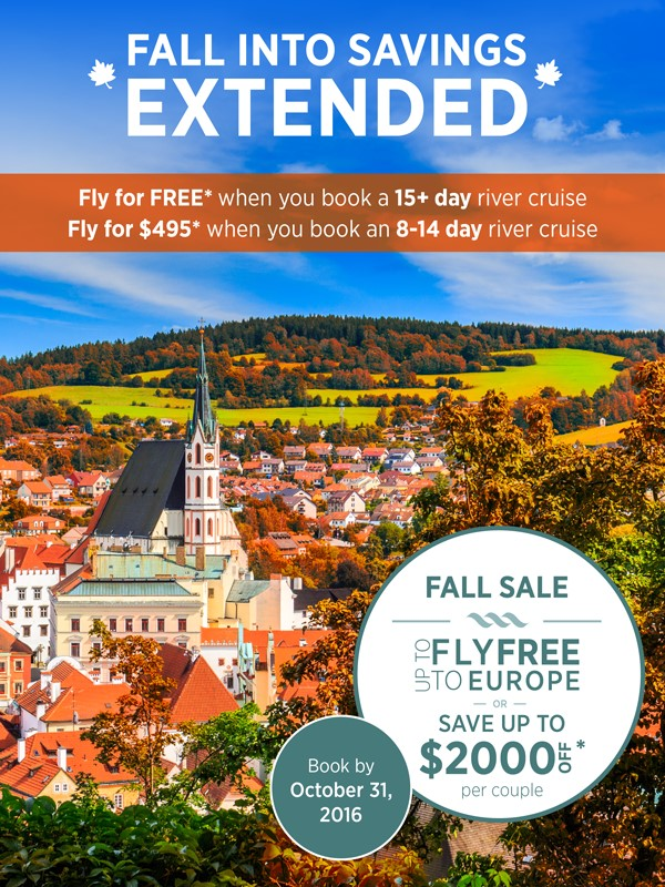 River Cruises on Sale Now! Contact Enjoy Vacationing Travel Agency to learn more today!