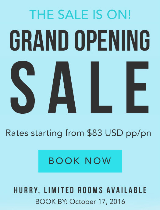 All Inclusive Resorts - Grand Opening Sale - EnjoyVacationing.com