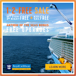 Free upgrades on Anthem of the Seas from Enjoy Vacationing & Royal Caribbean Cruise Line
