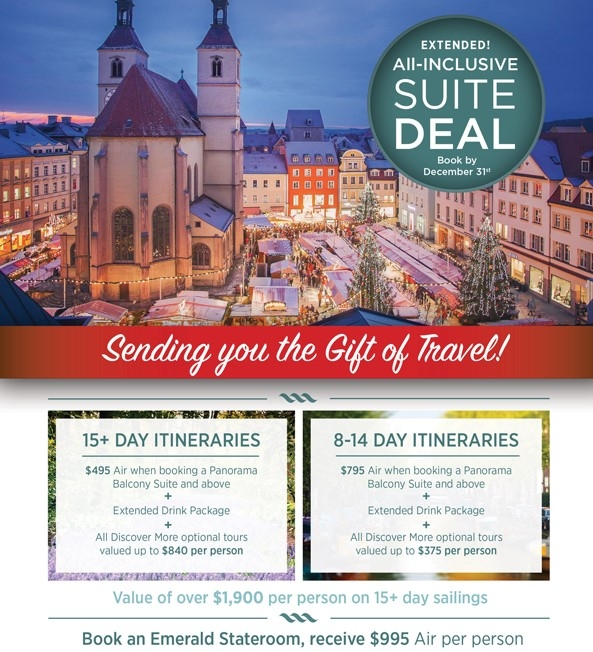 All Inclusive European River Cruise Suite Deals! EnjoyVacationing.com