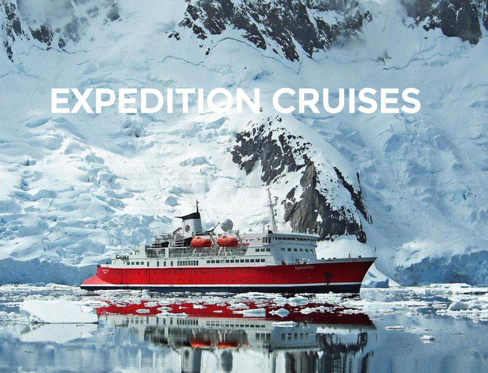 Save up to 15% on Select Expedition Cruises - info@EnjoyVacationing.com for more info