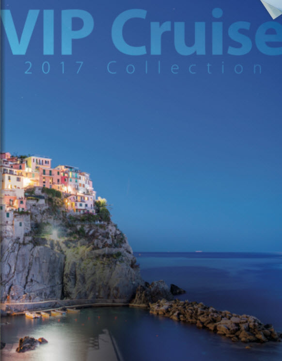 VIP Cruise 2017 Collection is now available from Enjoy Vacationing!