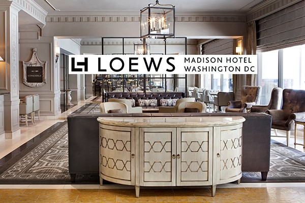 Get great perks when you book the Loews Madison Hotel through Enjoy Vacationing!