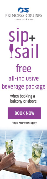 Free beverage package on select sailings when you book through Enjoy Vacationing!