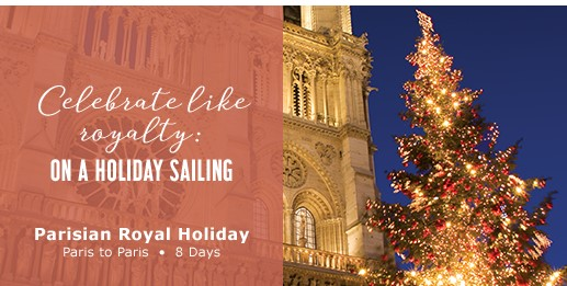 Luxury Holiday savings on a new river cruise ship available!