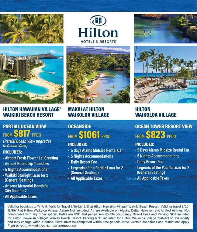 Amazing pricing on Hawaii - contact Enjoy Vacationing for more details!