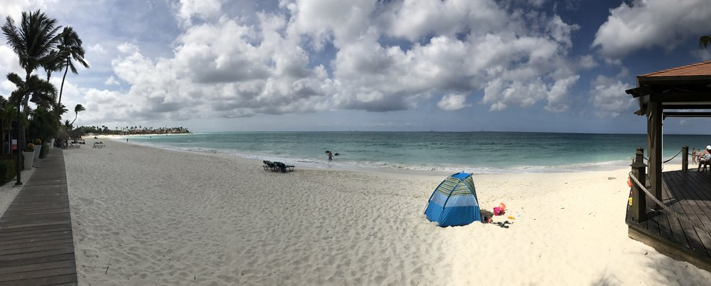Another beautiful beach in Aruba - where can we help you Enjoy Vacationing?!