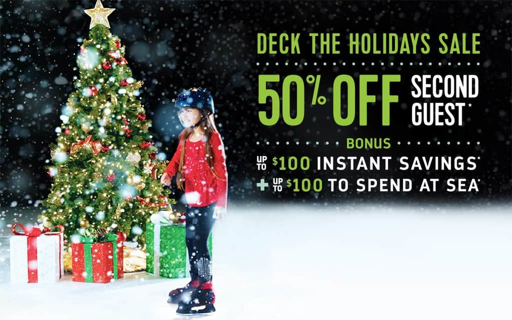 Royal Caribbean & Enjoy Vacationing bring you the Deck the Holidays Cruise Sale!