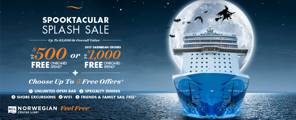 Spooktacular Splash Sale - Enjoy Vacationing!
