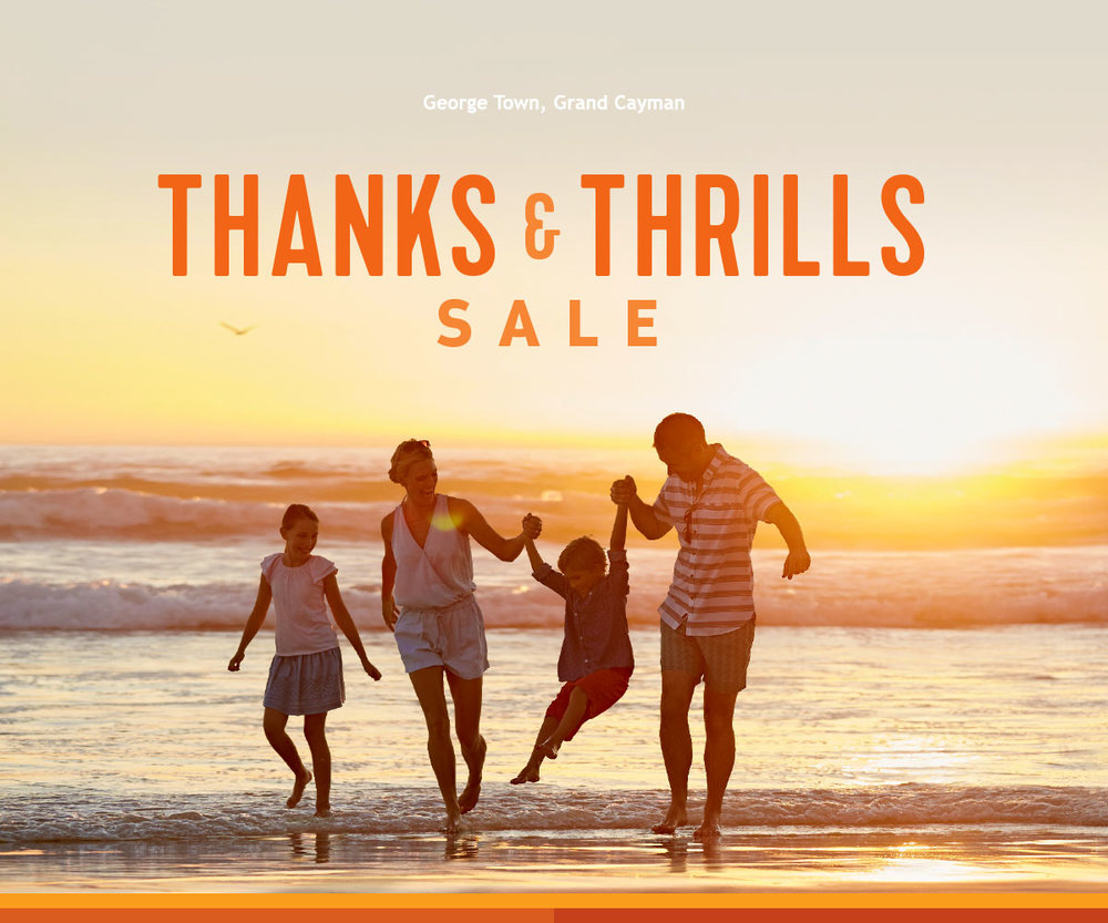 thanks and thrills sale from Royal Caribbean & Enjoy Vacationing
